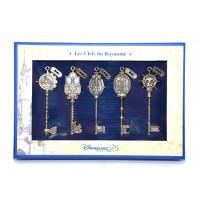 Disneyland Paris 25th Anniversary kingdom keys Limited Edition Set