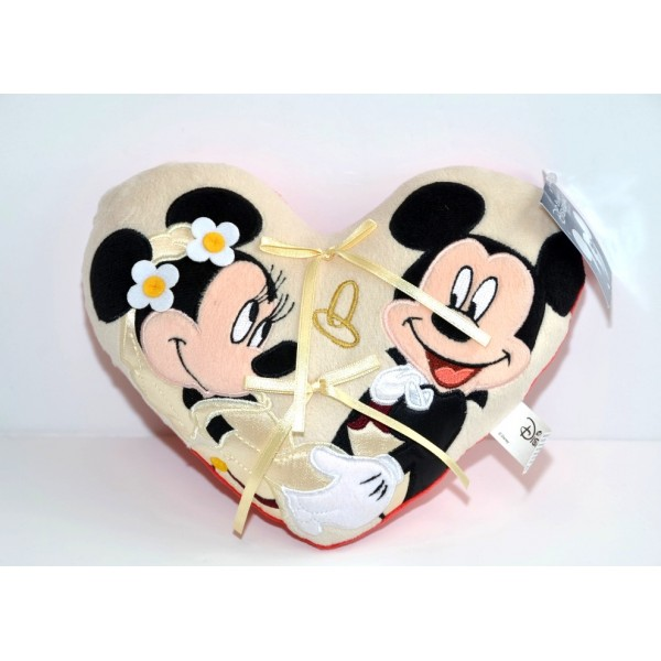 Mickey and Minnie Small Wedding ring cushion, Disneyland Paris