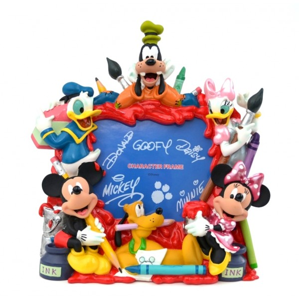 Disney Photo Frame - Mickey and Friends Painting