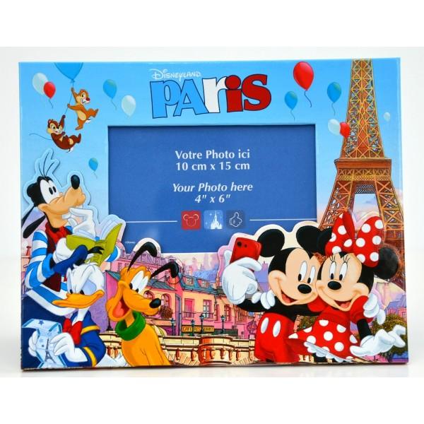 Disneyland Paris Mickey Minnie and friends in Paris Photo Frame