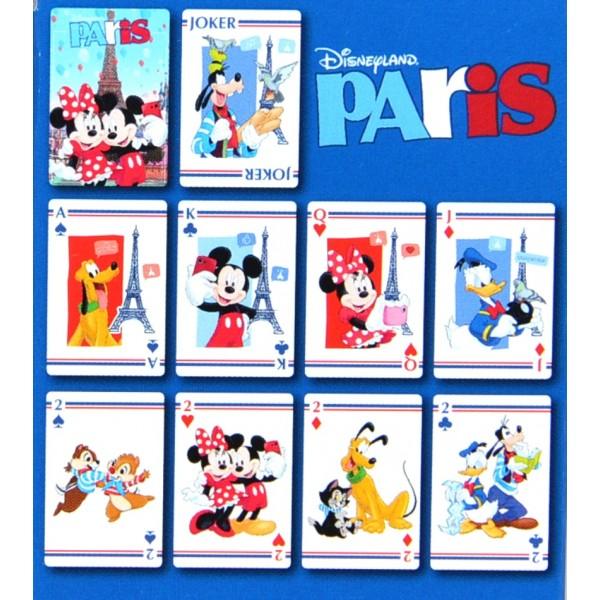 Disney Characters Playing Cards, Disneyland Paris