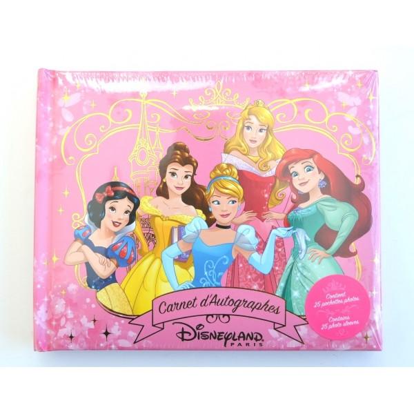 Disneyland Paris Princess Autograph Book