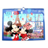 Disneyland Paris 2019 Wall Calendar