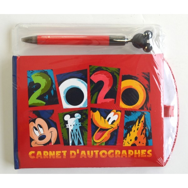 Disneyland Paris 2020 Autograph Book and Pen