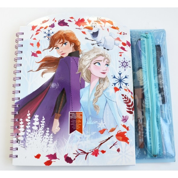Disneyland Paris Frozen 2 Ring-bound Activity Book