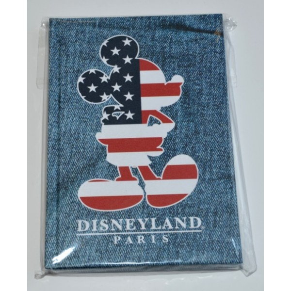 Mickey Mouse Stars and Stripes Notebook
