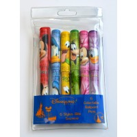Disney Collectable Characters ballpoint pens, Set of 6