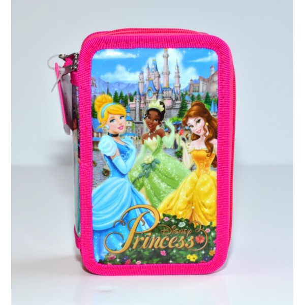 Disneyland Paris Princess Filled Pencil Case