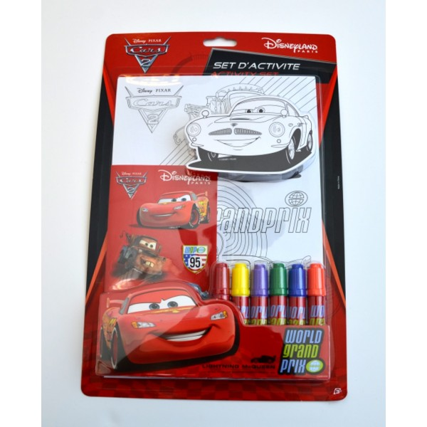 Disney Cars 2 Fun on the Run Activity Kit