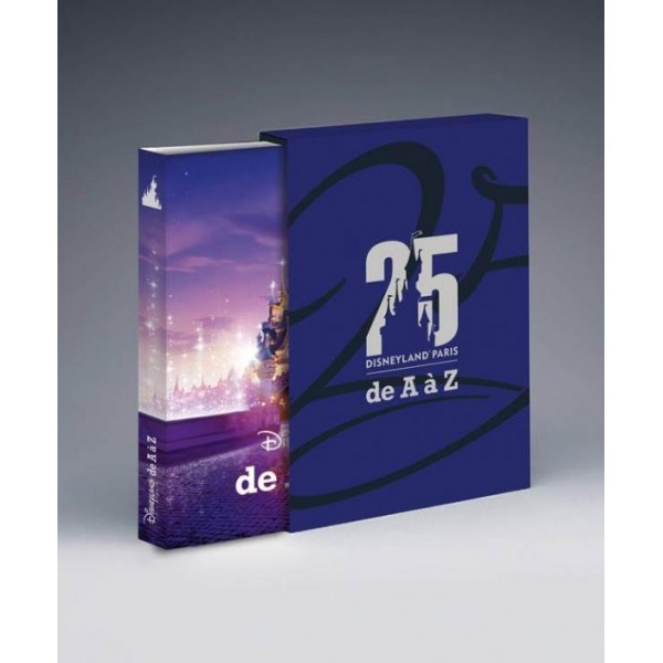 Disneyland Paris Anniversary A to Z Book