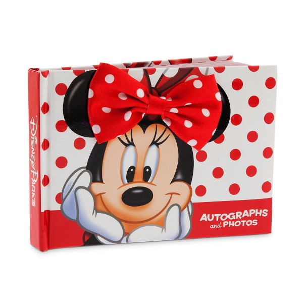 Disney Minnie Mouse Autograph Book