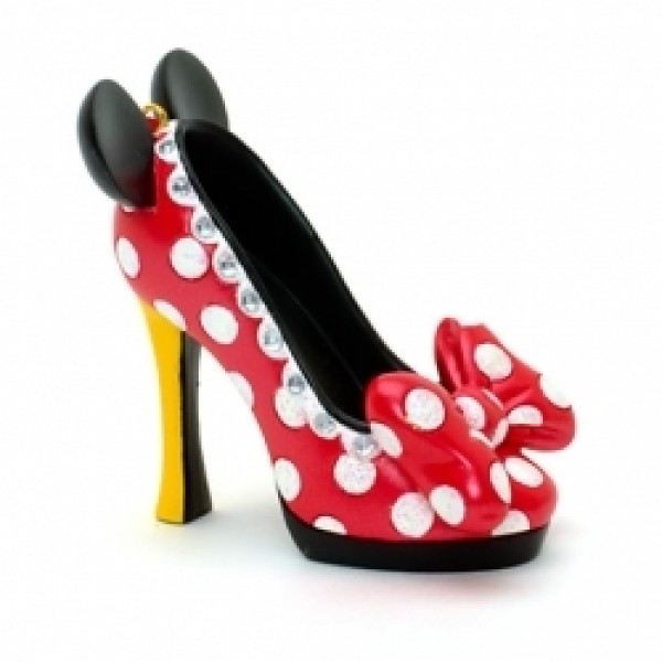 Minnie Mouse - Miniature Decorative Shoe