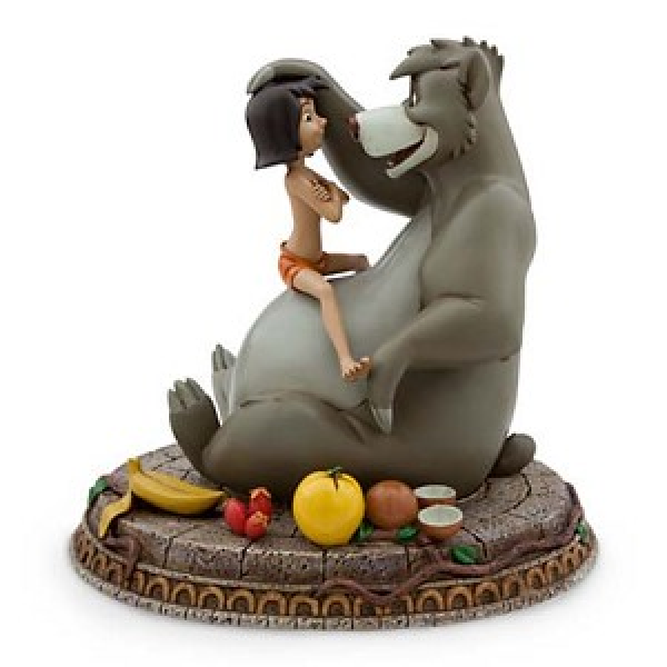 Baloo and Mowgli Figure - Jungle Book Disney