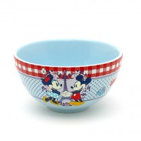 Disneyland Paris Authentic Bistro Collection Mickey and Minnie Mouse Bowls, Set of 2