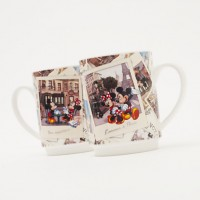 Disneyland Paris Mickey and Minnie 2 Mugs Set