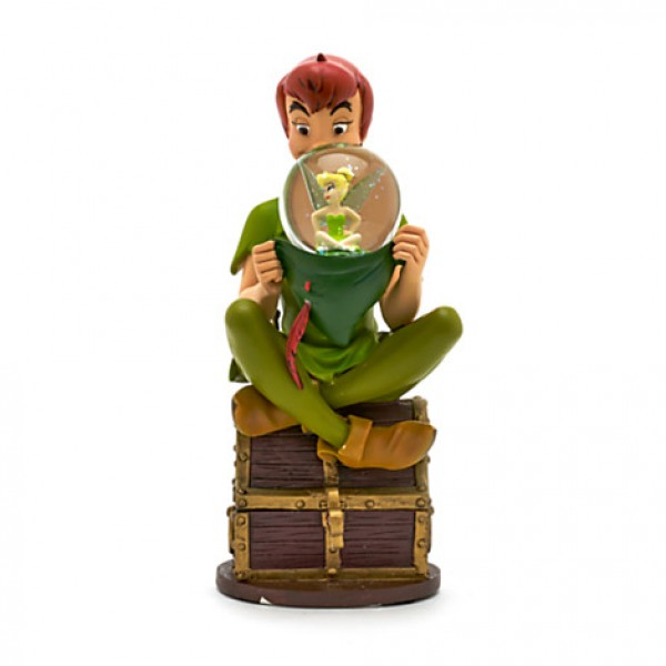 Peter Pan Musical Snow globe Figurine