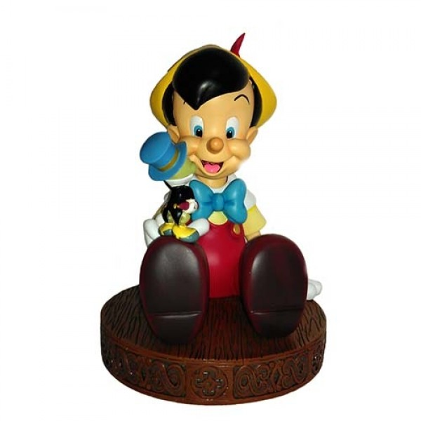 Pinocchio and Jiminy Cricket Figurine