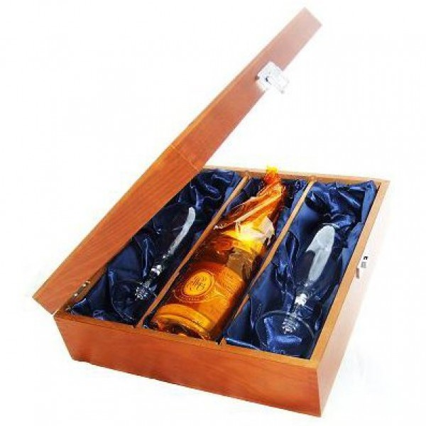 Luxury Wooden Box – 3 Bottles