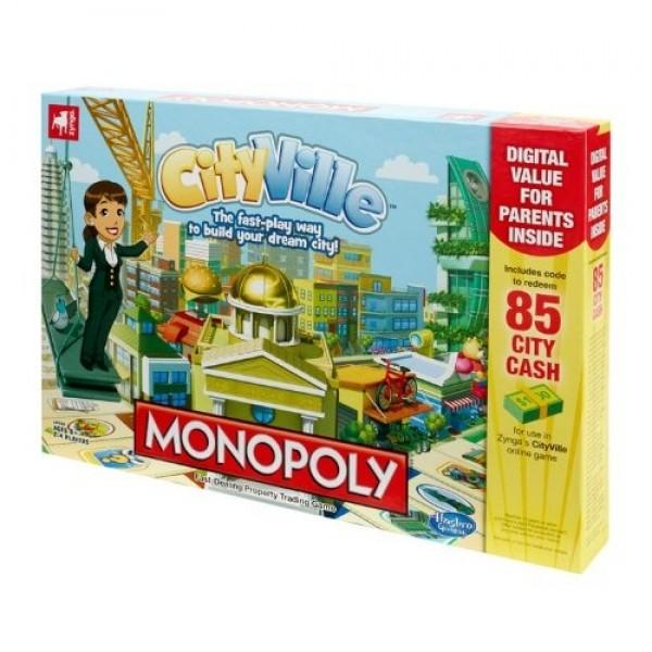 Monopoly Cityville Board Game - Hasbro