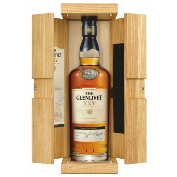 Glenlivet 25 Year Old Single Malt Whisky (70cl)