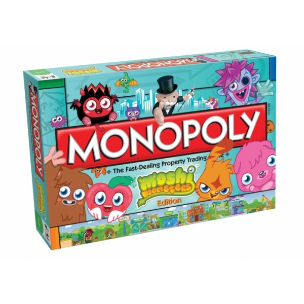 Monopoly Moshi Monsters Edition - Hasbro