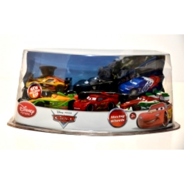 Cars Moving Wheels Disney Pixar Playset