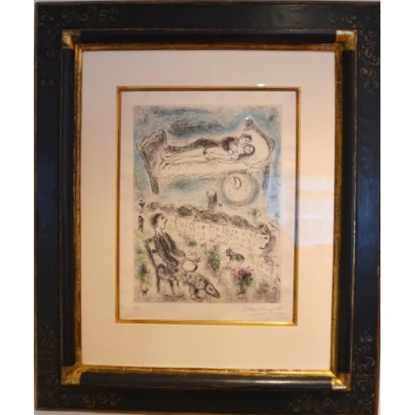 Celui Qui Dit Les Choses Sans Rien Dire - Marc Chagall
