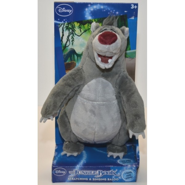 The Jungle Book Scratching & Singing Baloo