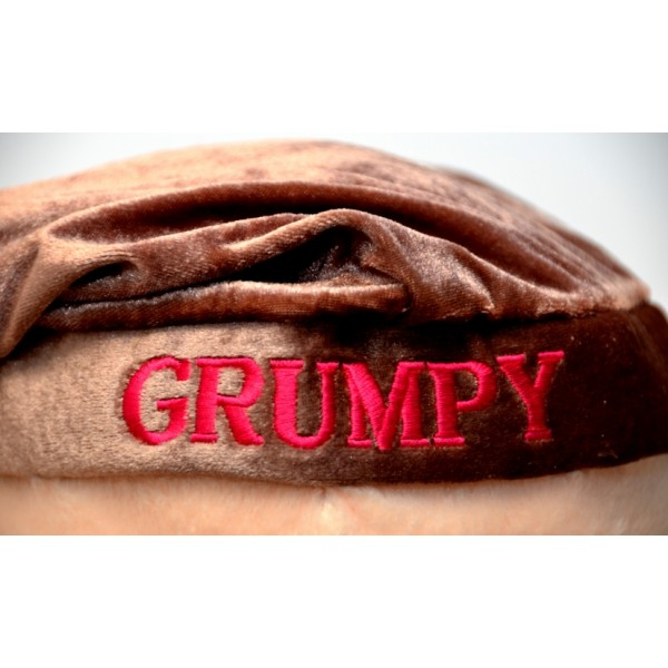 """Disney Grumpy large soft toy from """"Snow White"""""""