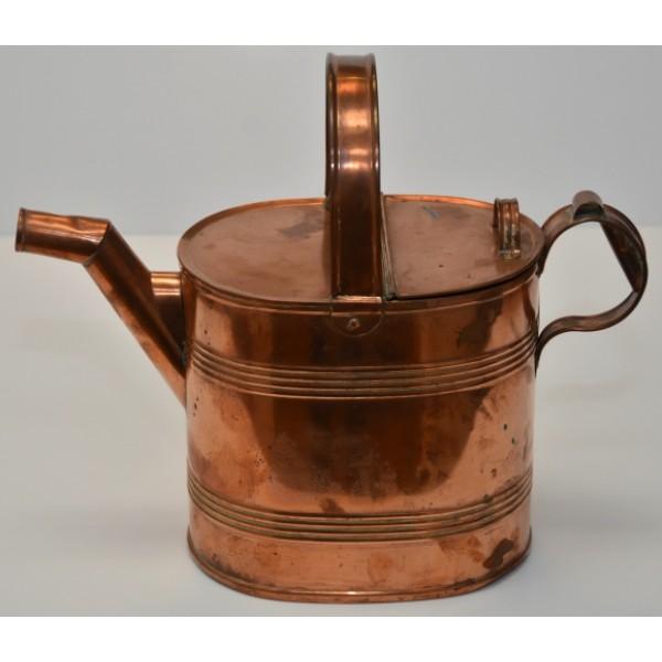 Vitorian Copper Hot Water Can