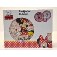 Minnie Mouse Breakfast Set