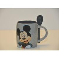 Mickey Mouse Mug and Spoon