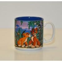 Vintage Disney animated Lion King Mug