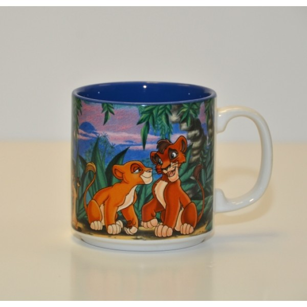 Vintage Disney animated Lion King Mug