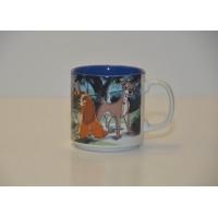 Vintage Disney animated Lady and the Tramp Mug