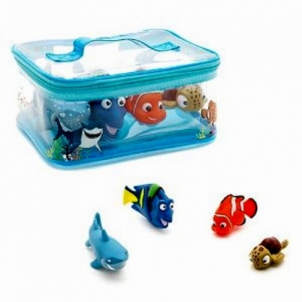 disney finding nemo figure bath set. Black Bedroom Furniture Sets. Home Design Ideas