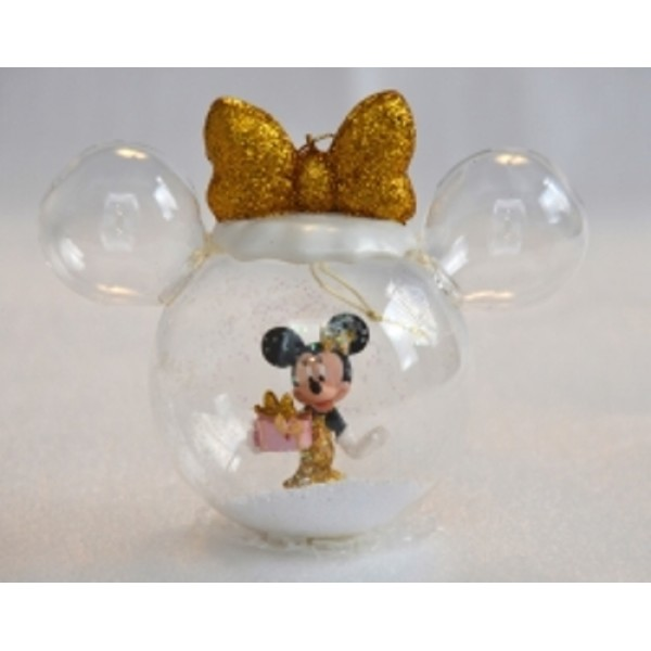 Minnie with Present in a Bauble, extremely rare