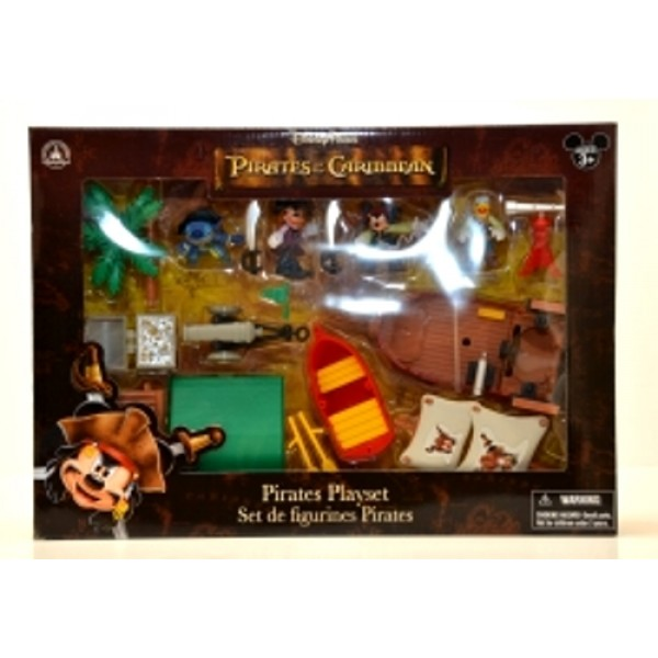 Disney Parks Pirates of the Caribbean Playset
