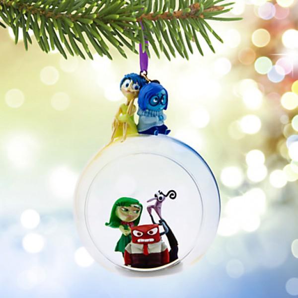 Disney Pixar Inside Out Glass Globe Sketchbook Ornament