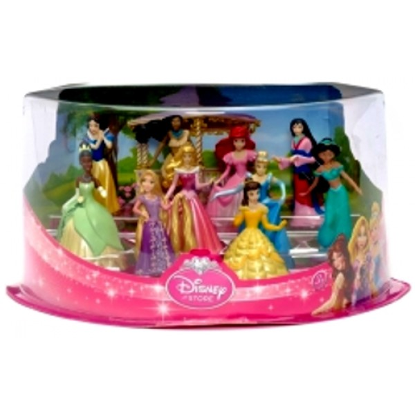 Disney Princess Figurine Deluxe Play Set