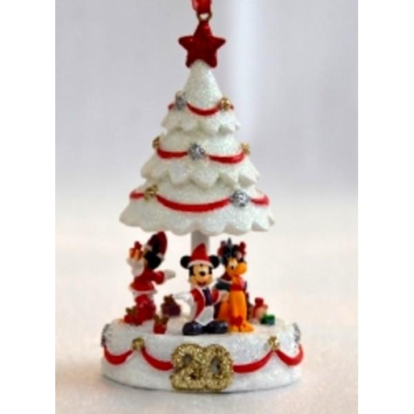 20th Anniversary Christmas Tree Ornament ,Disneyland Paris