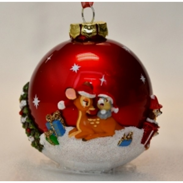 Disneyland Paris 20th Anniversary Mickey Mouse and Friends Bauble