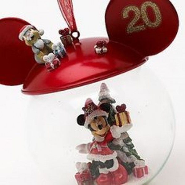 Disneyland Paris 20th Anniversary Minnie Mouse Bauble,Rare