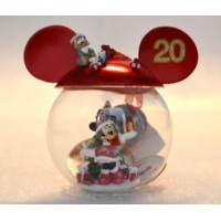 Disneyland Paris 20th Anniversary Minnie Mouse Bauble, extremely Rare