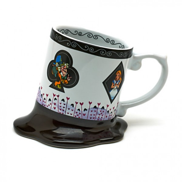 Alice In Wonderland Melted Mug
