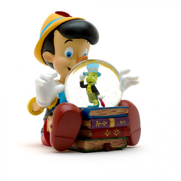 Disney Pinocchio Musical Snow Globe, Disneyland Paris