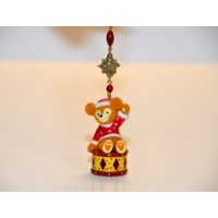 Duffy Teddy Bear Christmas Ornament