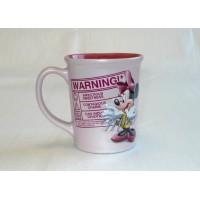 Disney Minnie Mouse Warning Coffee Mug