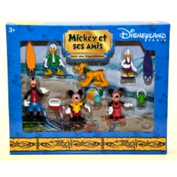 Mickey and Friends Figurine play set