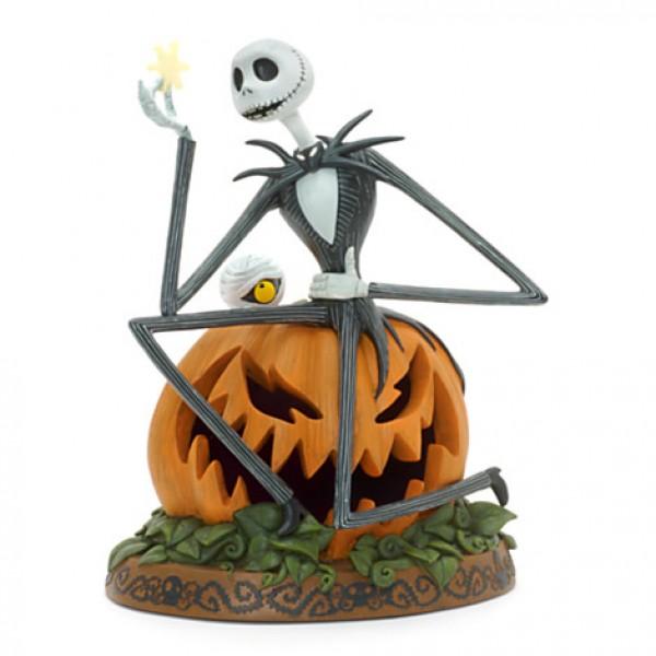 Jack Skellington Light-Up Figurine, Disneyland Paris